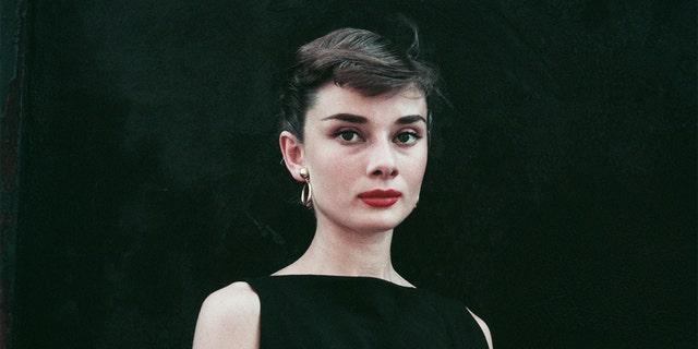 Audrey Hepburn, circa 1955.