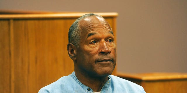 O.J. Simpson appears via video for his parole hearing at the Lovelock Correctional Center in Lovelock, Nevada, July 20, 2017. (Associated Press)
