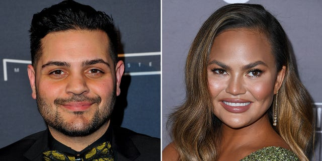 Designer Michael Costello responds to Chrissy Teigen's claims bullying DMs are fake