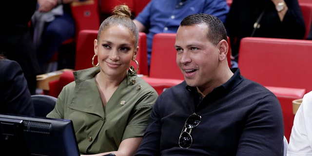 Rodriguez and Lopez dated from 2017-2021. (AP Photo/Lynne Sladky, File)