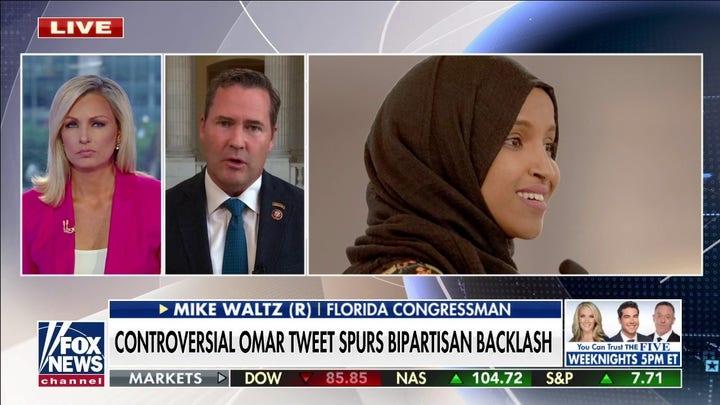 Rep. Michael Waltz condemns far-left Rep. Ilhan Omar's comments equating US, Taliban 'atrocities'