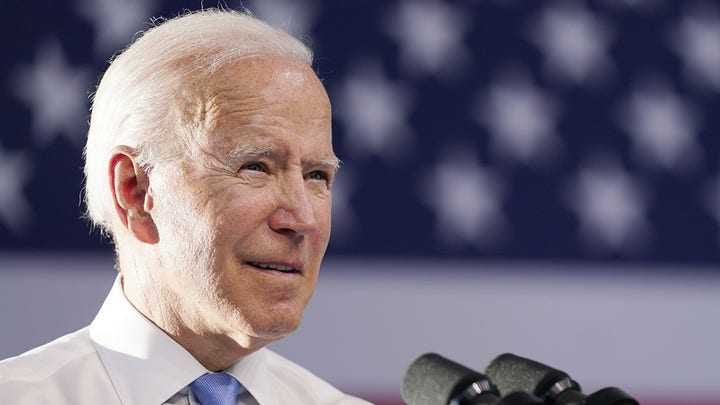 Biden hopes to pass infrastructure with only Democrats