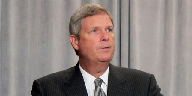 Agriculture Secretary Tom Vilsack speaks to the International Association for Food Protection.