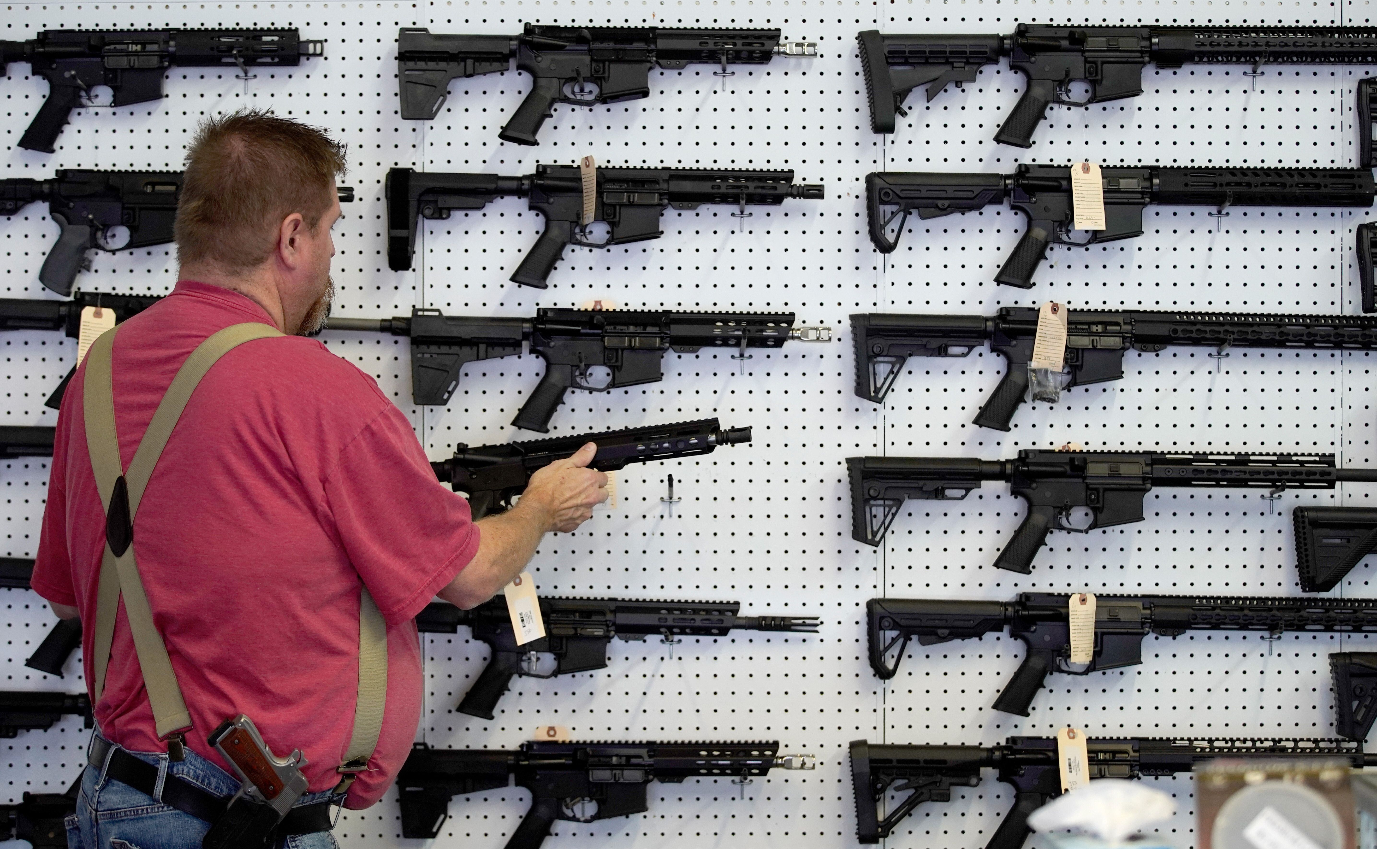 AR-15 guns are designed to kill many people in a short amount of time.