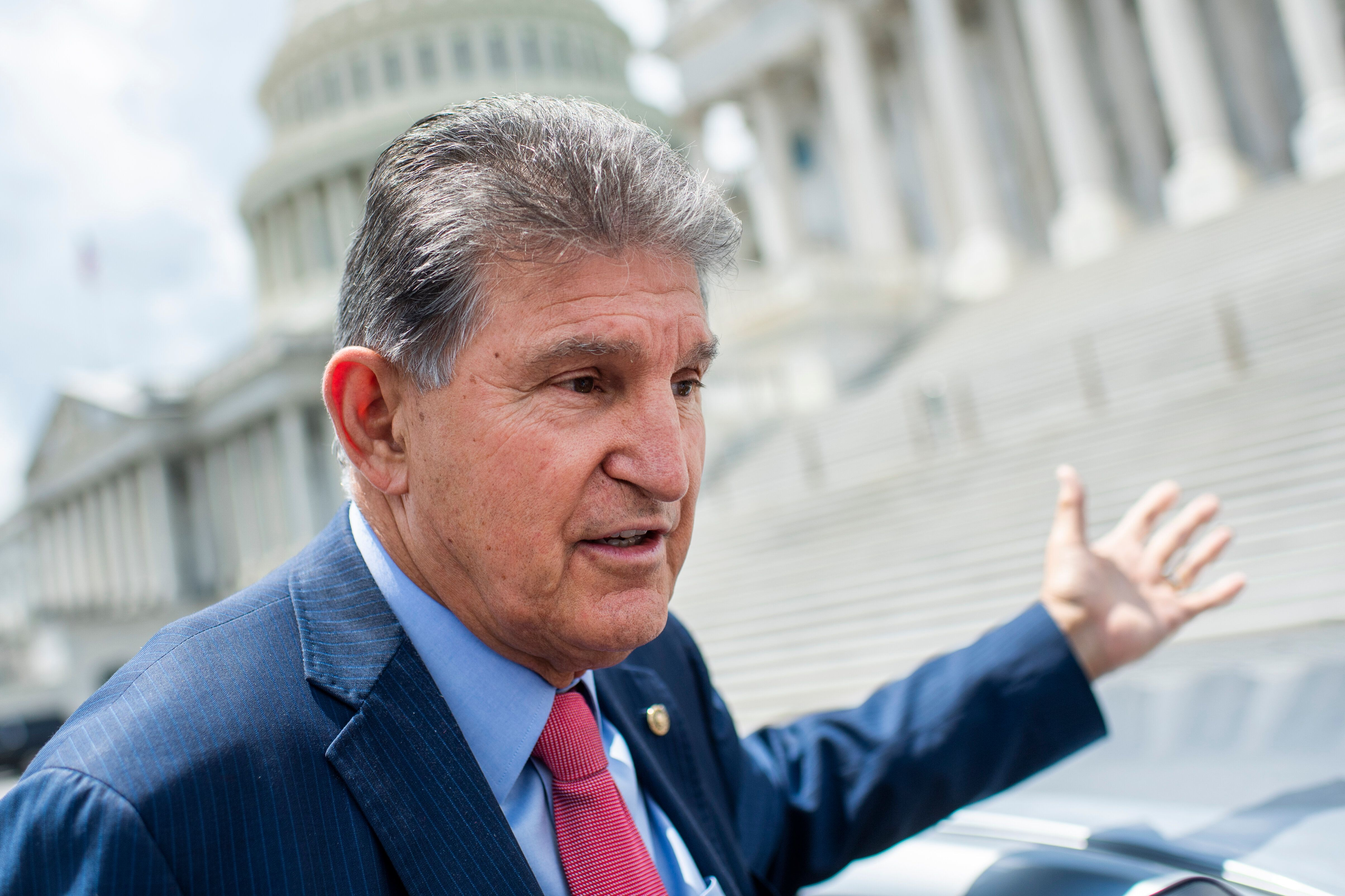 Sen. Joe Manchin (D-W.Va.) does not support the For the People Act as it currently exists.