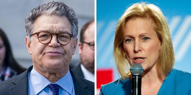 Al Franken resigned from the U.S. Senate in 2018 in part because of pressure from a fellow Democrat, U.S. Sen. Kirsten Gillibrand of New York.