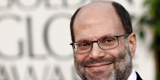 FILE - Scott Rudin arrives at the Golden Globe Awards in Beverly Hills, Calif. on Jan. 16, 2011. Rudin, one of the most successful and powerful producers, with a heap of Oscars and Tonys to show for it, has long been known for his torturous treatment of an ever-churning parade of assistants. Such behavior has long been engrained — and sometimes even celebrated — in show business. (AP Photo/Matt Sayles, File)