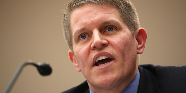"""FILE – WASHINGTON, DC - JANUARY 23: Former special agent at the Bureau of Alcohol, Tobacco, Firearms, and Explosives (ATF) David Chipman testifies during a hearing before the Congressional Gun Violence Prevention Task Force January 23, 2013 on Capitol Hill in Washington, DC. The task force held a hearing on """"the comprehensive steps that Congress can take to reduce gun violence while respecting the 2nd Amendment rights of law-abiding Americans."""" (Photo by Alex Wong/Getty Images)"""