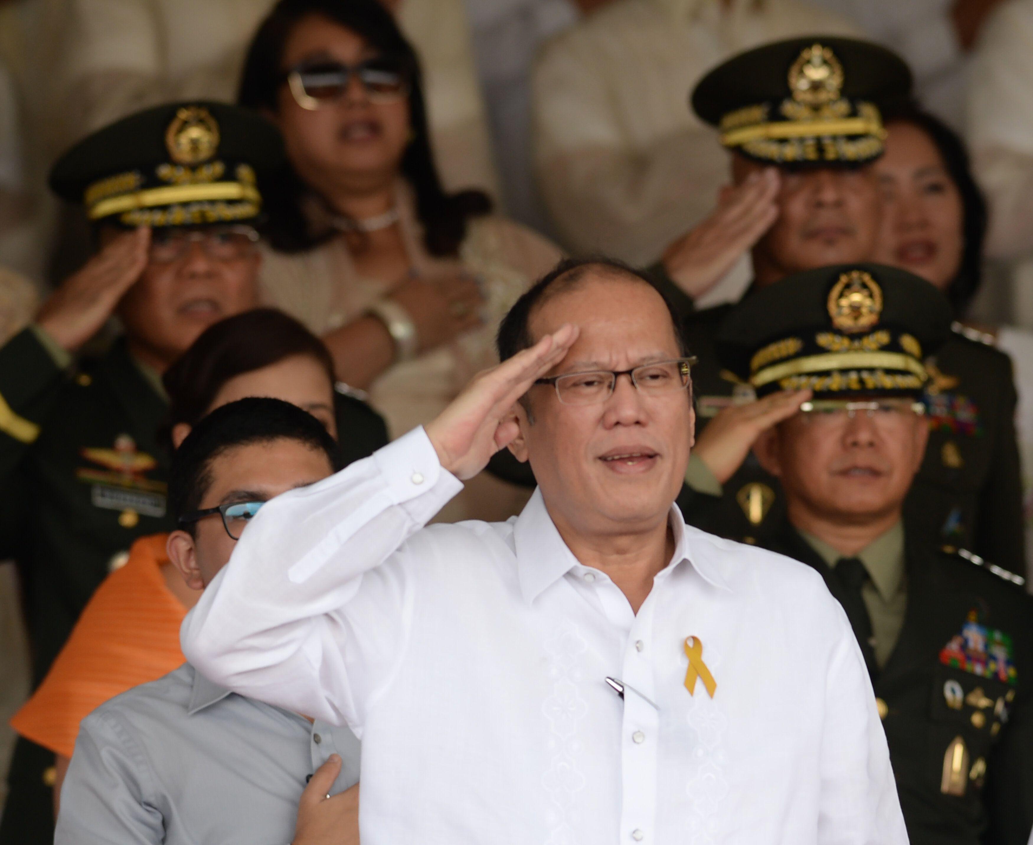 Former Philippine President Benigno Aquino III died Thursday. He was 61.