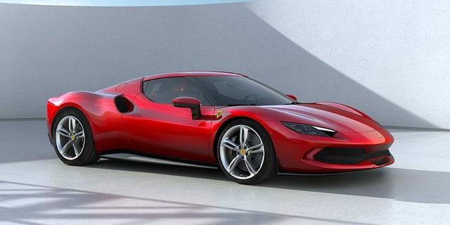 The Ferrari 296 GTB is the brand's first V6-powered model.