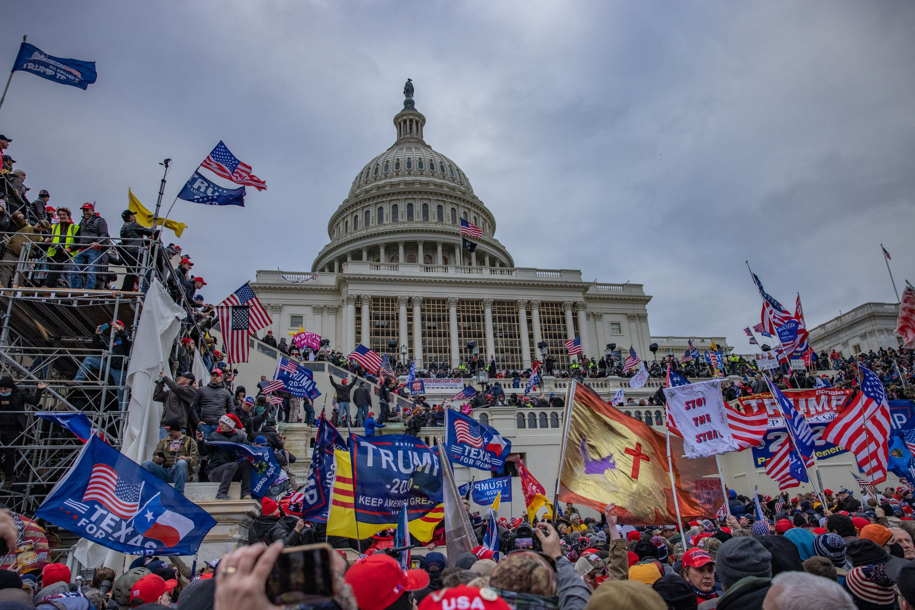 A violent mob of Donald Trump supporters stormed the U.S. Capitol on Jan. 6.