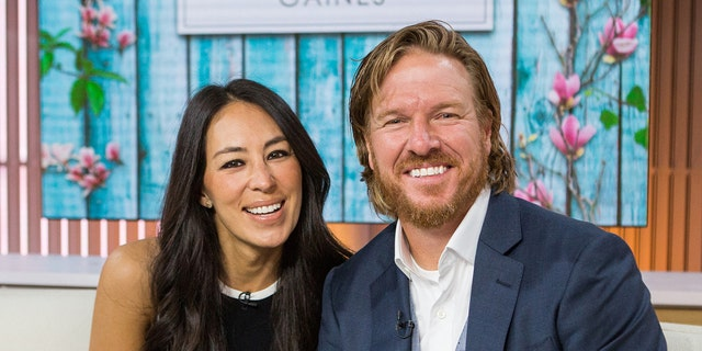 """Chip and Joanna Gaines are pictured in 2017. Joanna recently gave fans a sneak peek of some upcoming """"Fixer Upper: Welcome Home"""" renovations on Instagram. (Photo by: Nathan Congleton/NBCU Photo Bank/NBCUniversal via Getty Images)"""