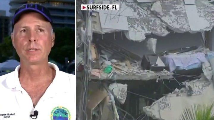 Surfside mayor provides updates on building collapse on 'Tucker Carlson Tonight'