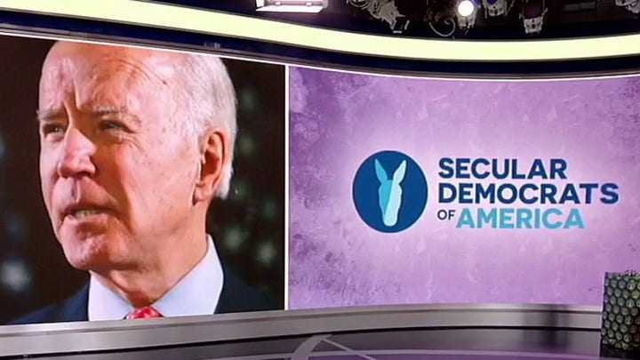 Biden facing growing pressure from secular Democrats to embrace their agenda