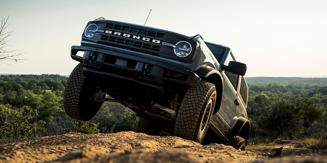 An independent front suspension helps the Bronco stand apart from the Wrangler.