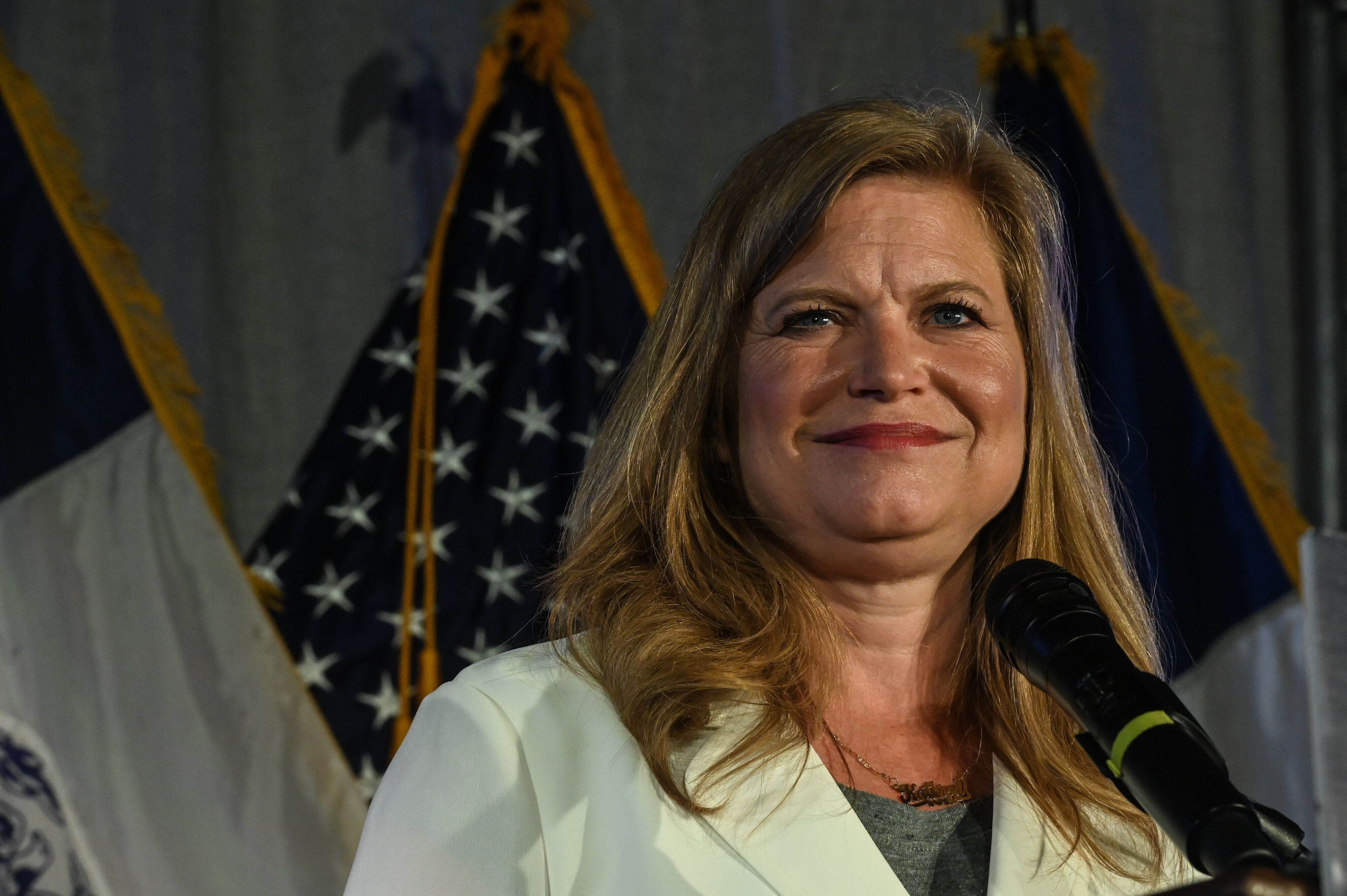 Kathryn Garcia, a moderate technocrat, is within striking distance of Eric Adams, according to a new, unofficial tally of in-