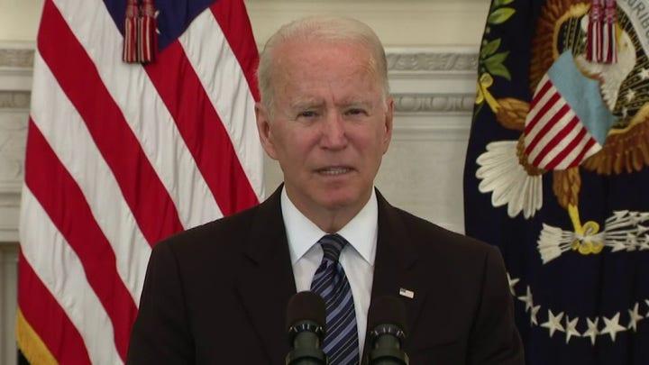 Biden pledges crackdown on gun control to curb violent crime