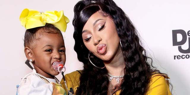 Rapper Cardi B defended gifting her 3-year-old daughter Kulture a pricey necklace.