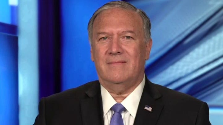 Pompeo: Biden Administration 'uncomfortable' defending the American flag