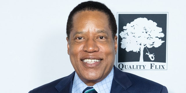 """Radio talk show host Larry Elder attends the """"Death Of A Nation"""" premiere at Regal Cinemas L.A. Live on July 31, 2018 in Los Angeles, California."""