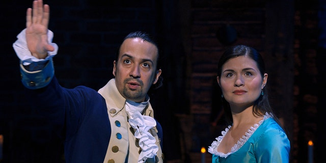 Lin-Manuel Miranda (left) was expected to earn a nomination, but his various costars, including Philipa Soo (right), were not.