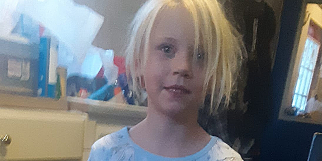 Summer is about 3 feet tall and weighs around 40 pounds. She was last seen wearing gray pants, a pink shirt and may have been barefoot. She has close-cropped blonde hair, shorter than in this picture, and blue eyes.