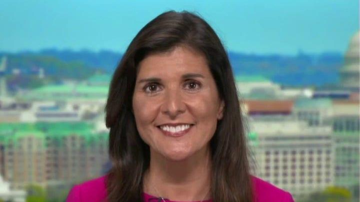 Nikki Haley blasts Biden's response to Cuba