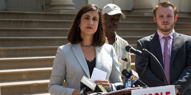 U.S. Rep. Nicole Malliotakis, a Republican from New York City, is seen in 2017, prior to her election to Congress in 2020. (Getty Images)