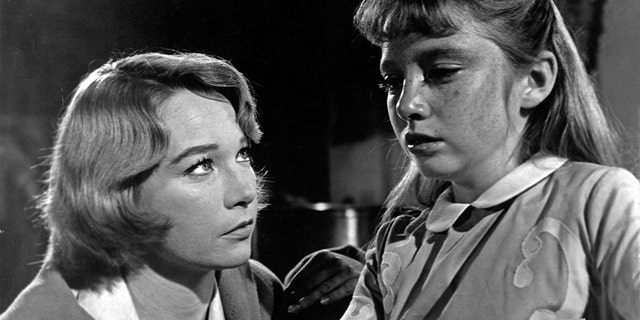 Veronica Cartwright (right) worked alongside Shirley MacLaine in 'The Children's Hour.'