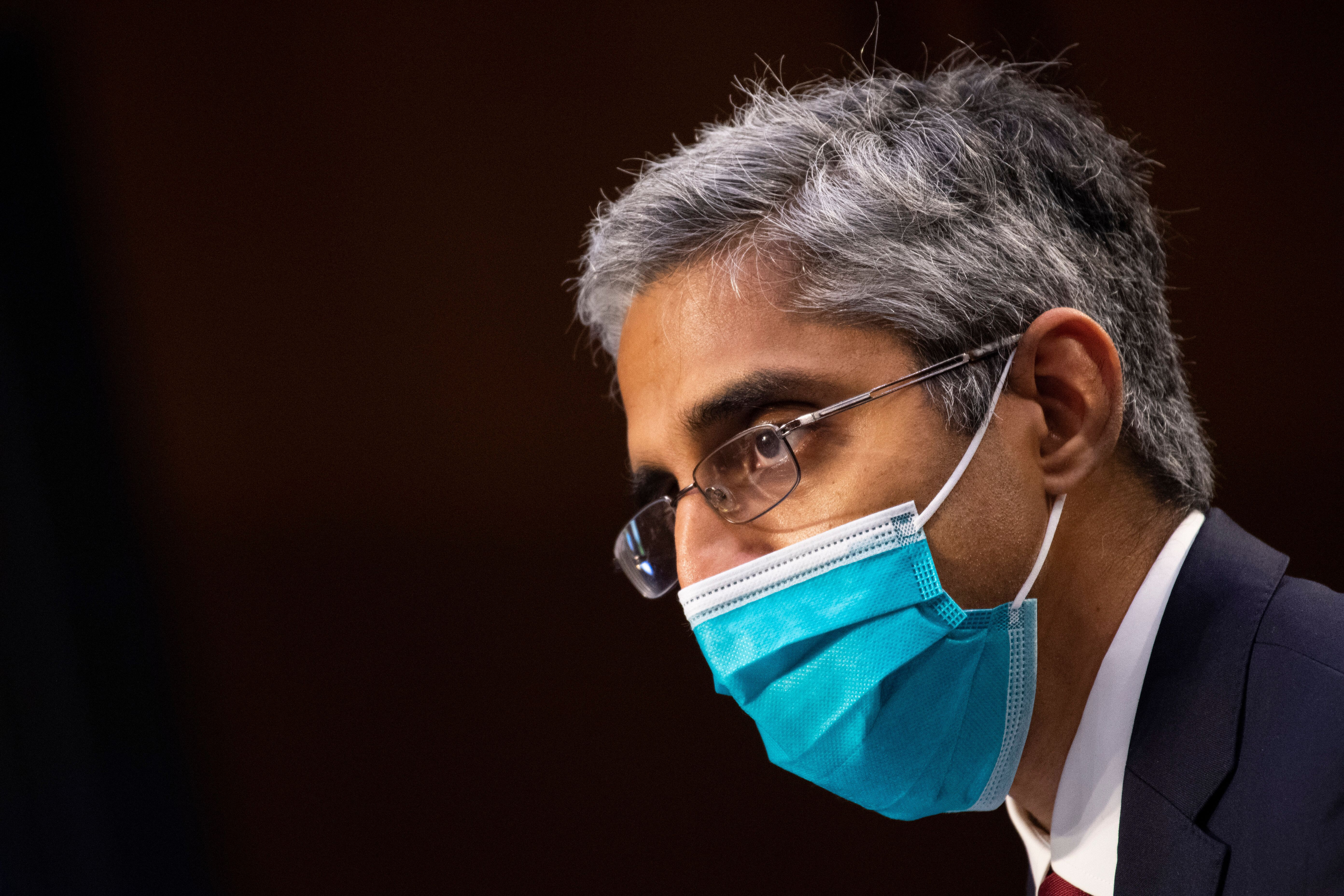 Surgeon General Vivek Murthy said he anticipated more counties around the nation will reinstitute COVID-19 prevention measure
