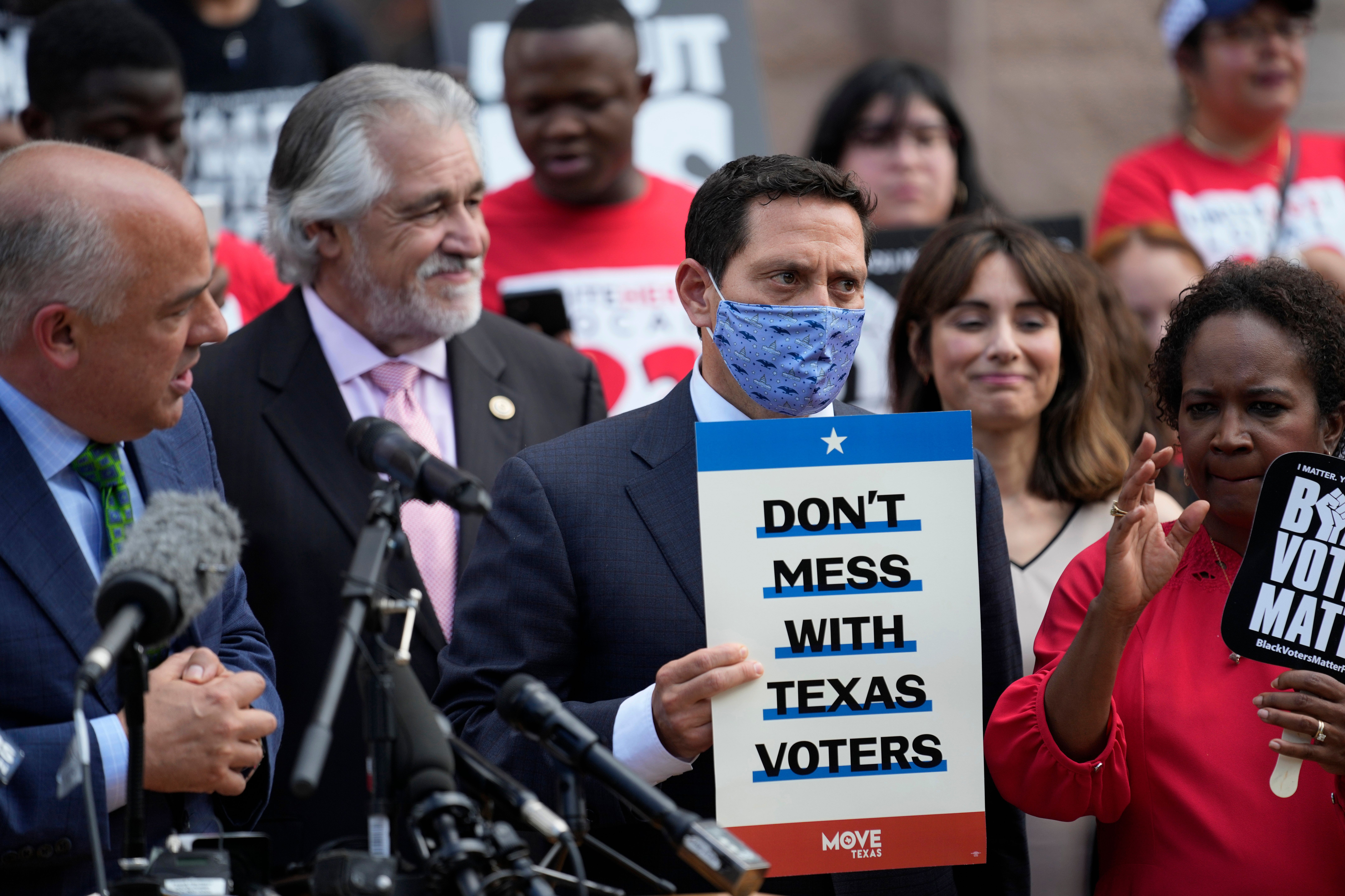 State Rep. Trey Martinez Fischer of San Antonio said in a statement that he had tested positive.