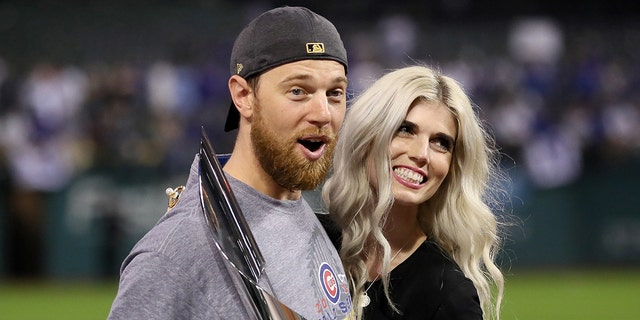 Zobrist and his wife, Julianna, are in the middle of the messy divorce. (Ezra Shaw/Getty Images)