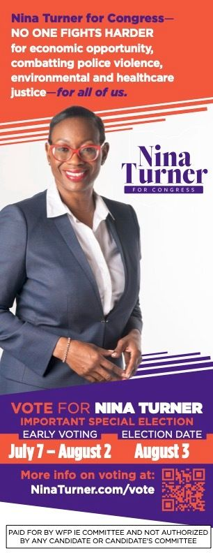 The Working Families Party is funding a super PAC field effort in support of Nina Turner. Canvassers will carry campaign lite