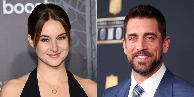 Aaron Rodgers announced his engagement to actress Shailene Woodley in February 2021.