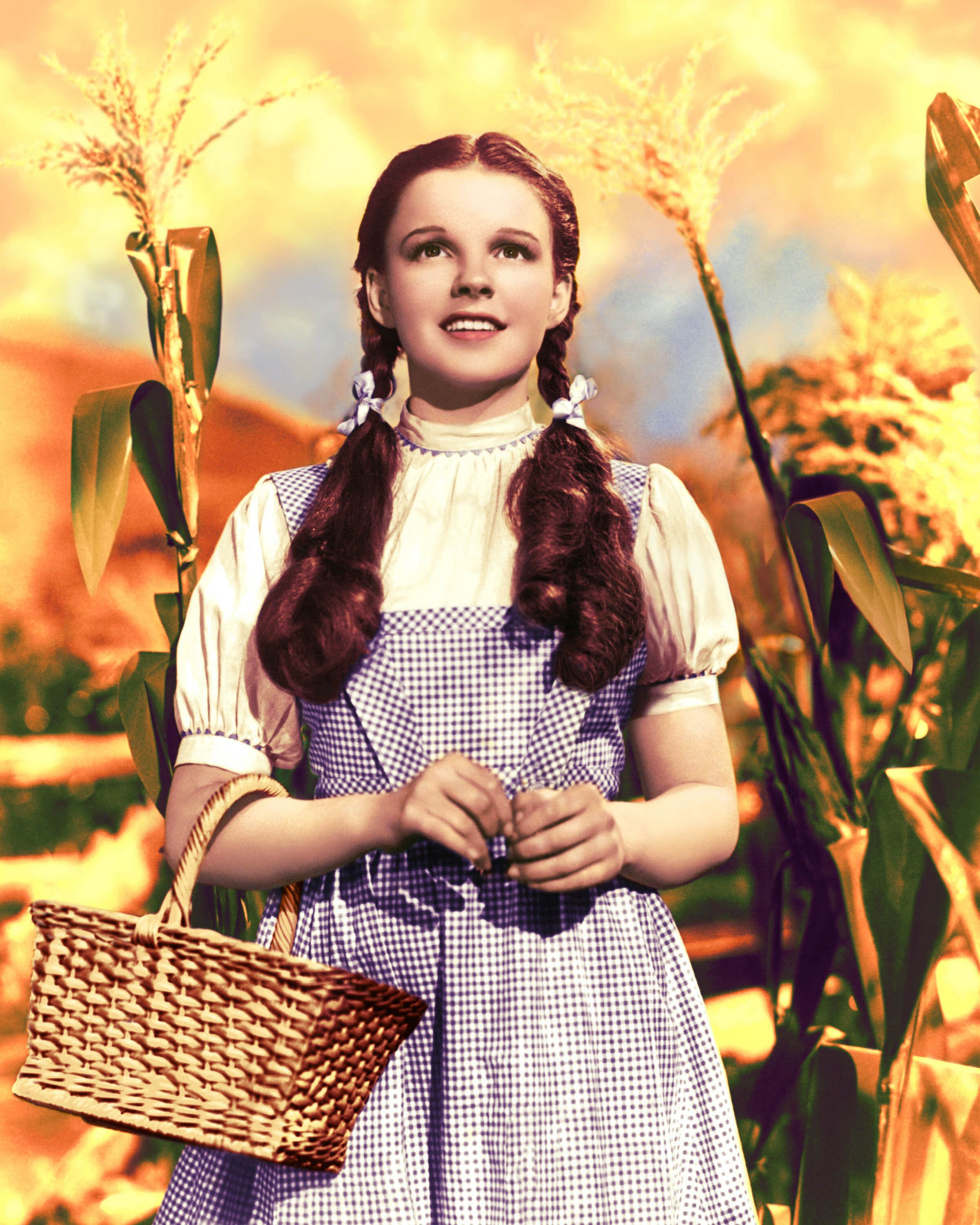 """Judy Garland as Dorothy Gale in 1939's """"The Wizard of Oz."""""""