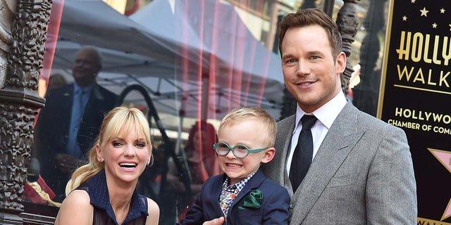 Actress Anna Faris and her ex-husband Chris Pratt share son Jack, now 8.