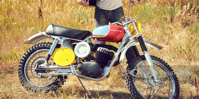 This 1968 Husqvarna Viking 360 was the first of the brand's bikes owned by Steve McQueen.