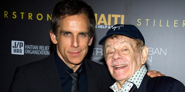Ben Stiller, left, is the son of actor and comedian Jerry Stiller. The late comedy veteran launched his career opposite wife Anne Meara in the 1950s. Meara passed away in 2015 while husband Jerry died May 2020. (AP Photo/Charles Sykes, File)