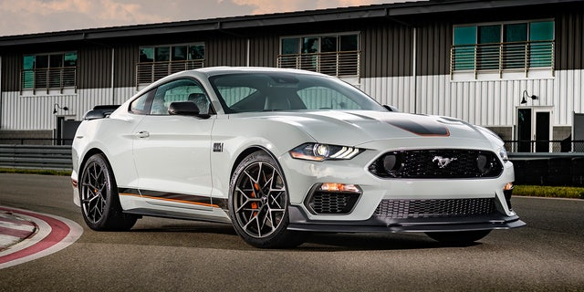 The Mach 1's handling package adds a more extreme aerodynamic package.