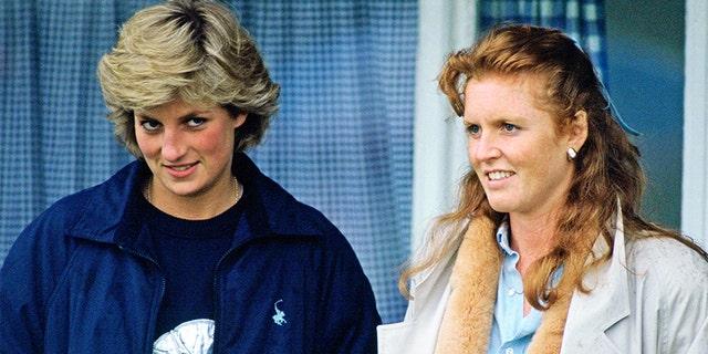 Sarah Ferguson (right) called Princess Diana her 'best friend.'