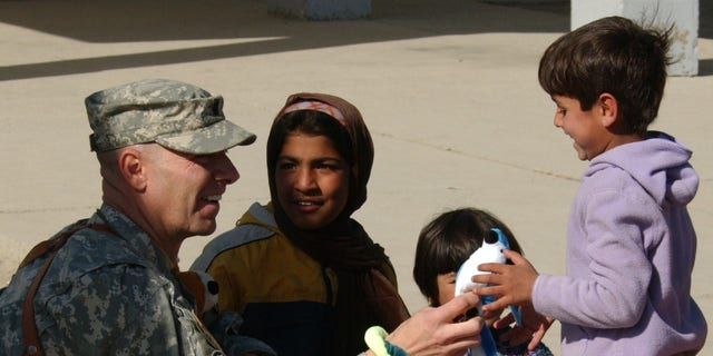 Doug Mastriano in Afghanistan in an undated photograph.