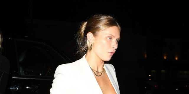 Josie Canseco arrives at Lexy Jayde's 19th birthday.