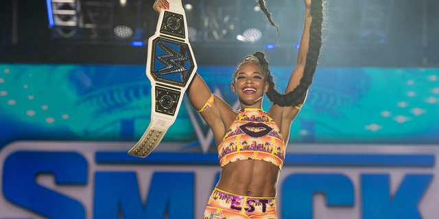 Bianca Belair is the current WWE SmackDown Women's Champion.