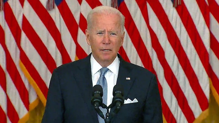 The Taliban are calling the shots, not Biden: Will Cain
