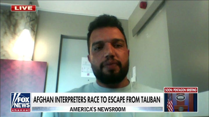 Afghan interpreter who fled country says Taliban are blocking airport