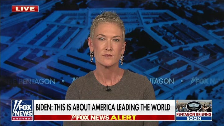 Jennifer Griffin pushes back on Biden's 'alternate reality' on Afghanistan evacuation