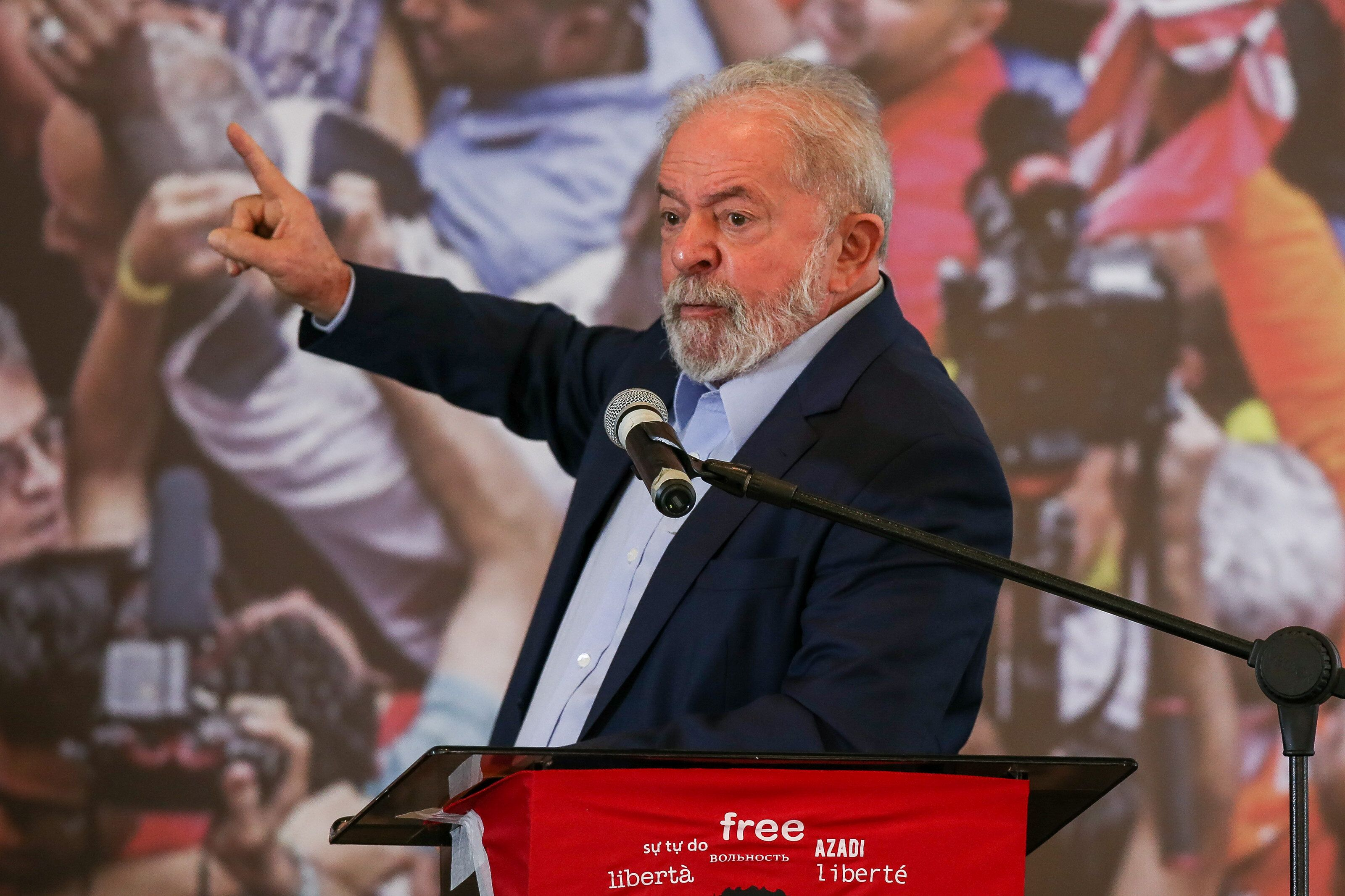 Lula da Silva, a leftist former president of Brazil, has all but formalized his candidacy against Bolsonaro in next year's el