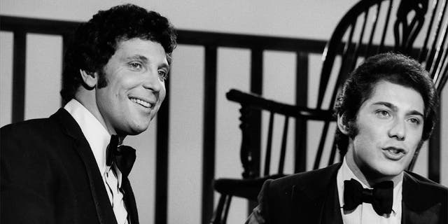 """Paul Anka (right) wrote """"She's a Lady,"""" which was then recorded by Tom Jones."""