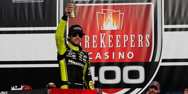 Ryan Blaney's NASCAR Cup Series win at Michigan International Speedway was his second of the season.