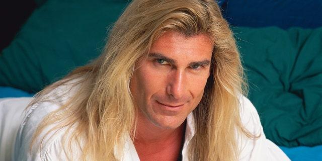 Italian male model Fabio, circa 2000.